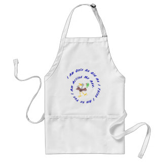 Only as Old As I Think - Acting My Age Adult Apron