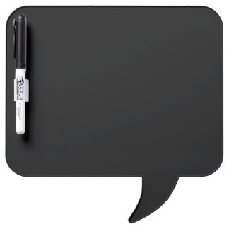 Only black cool solid color OSCB18 Dry-Erase Board