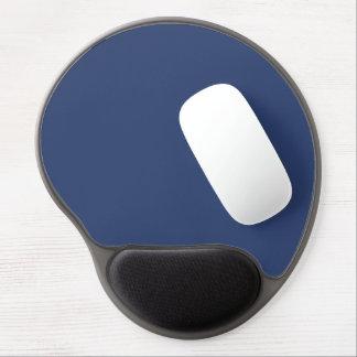 Only blue steel elegant solid color gel mouse pad