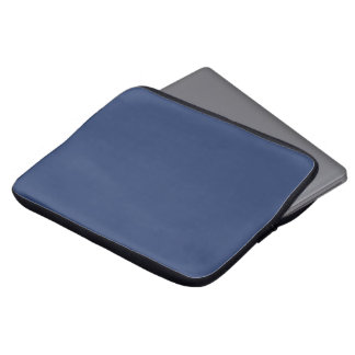 Only blue steel elegant solid color OSCB36 Computer Sleeve