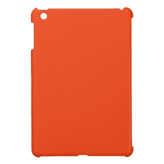 Only Bright Orange Color Trend Blank Template iPad Mini Covers