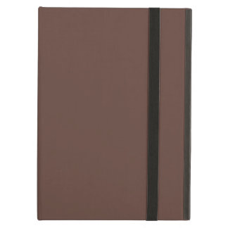 Only brown cocoa modern solid color iPad air cover