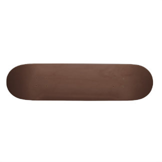 Only brown cocoa modern solid color OSCB37 Skateboard