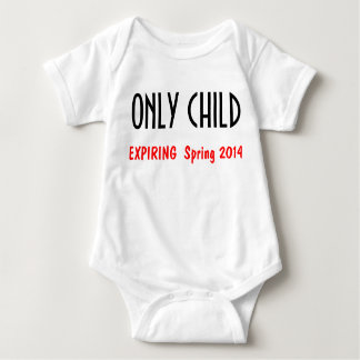 Only Child 1 Tee Shirts