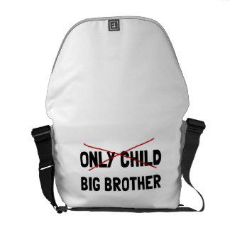Only Child Big Brother Messenger Bag