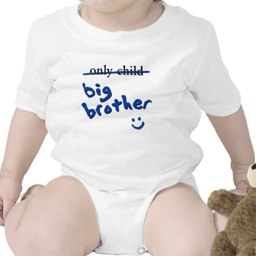 Only Child / Big Brother T Shirt