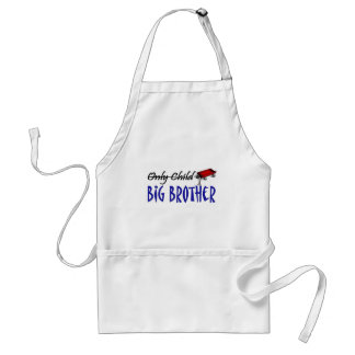 only child brother adult apron