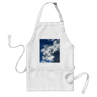 Only clouds adult apron