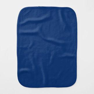 Only cobalt blue solid color burp cloths