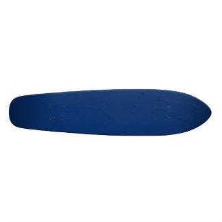 Only cobalt cool blue solid color background skateboard deck