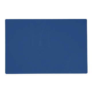Only cobalt cool blue solid color OSCB03 Placemat