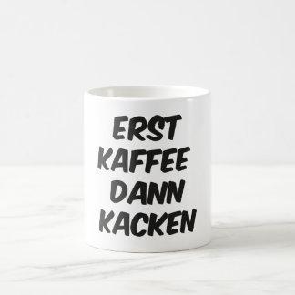 Only coffee then… coffee mug