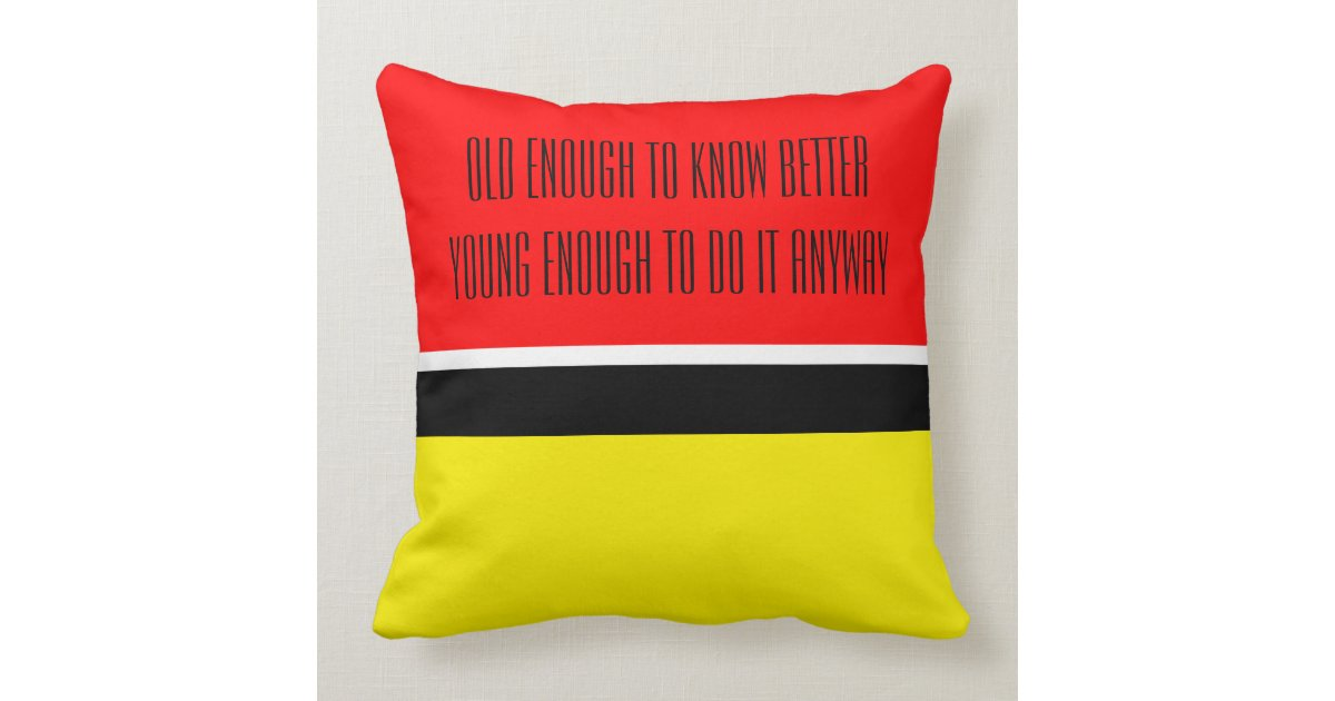 Only Color Background - fire red + your ideas Throw Pillow Zazzle