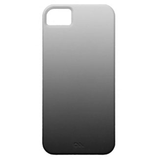 ONLY COLOR gradients - black grey iPhone SE/5/5s Case