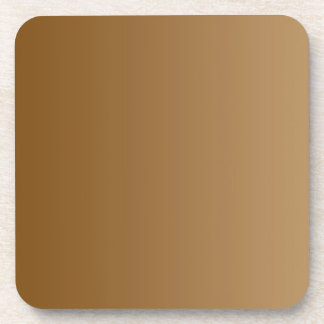 ONLY COLOR gradients - brown Coaster