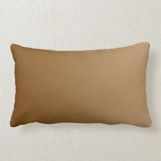 ONLY COLOR gradients - brown + olive green Lumbar Pillow