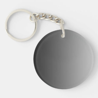ONLY COLOR gradients - grey Keychain