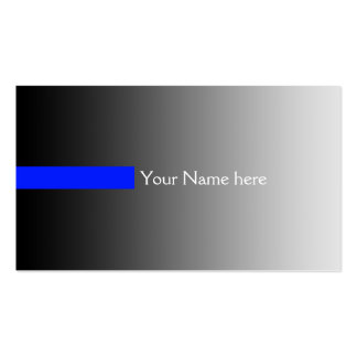 ONLY COLOR gradients grey - stripes royal + text Business Card