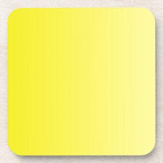 ONLY COLOR gradients - lemon Beverage Coaster