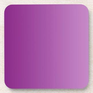 ONLY COLOR gradients - magenta Coaster