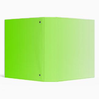 ONLY COLOR gradients - neon green Binder
