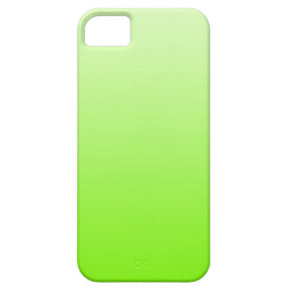 ONLY COLOR gradients - neon green iPhone SE/5/5s Case