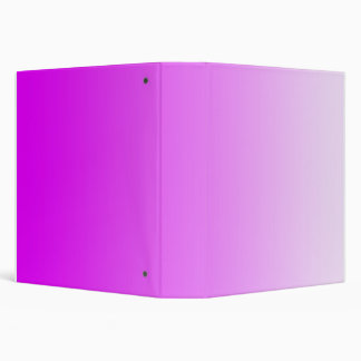 ONLY COLOR gradients - neon pink 3 Ring Binders