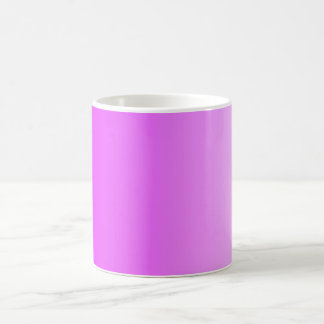 ONLY COLOR gradients - neon pink Classic White Coffee Mug