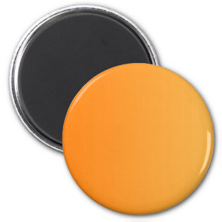 ONLY COLOR gradients - orange 2 Inch Round Magnet