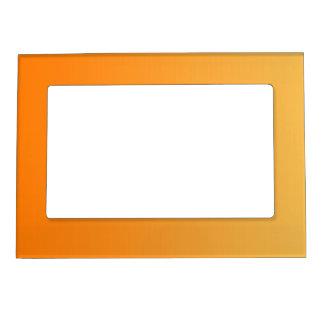 ONLY COLOR gradients - orange Magnetic Frame