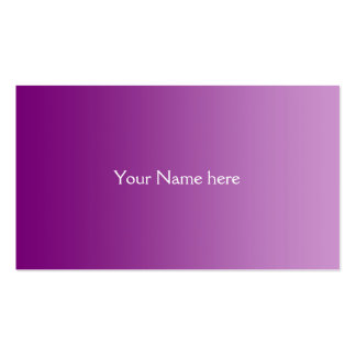 ONLY COLOR gradients - plum Business Card