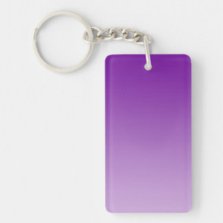 ONLY COLOR gradients - PUR-polarizes Double-Sided Rectangular Acrylic Keychain
