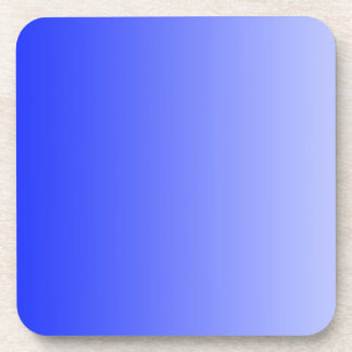 ONLY COLOR gradients - royal blue Coaster