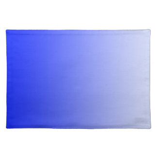 ONLY COLOR gradients - royal blue Placemat