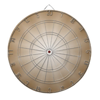 ONLY COLOR gradients Star - brown Dartboard
