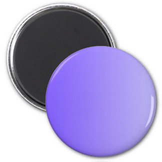 ONLY COLOR gradients - violet 2 Inch Round Magnet
