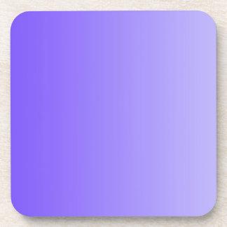 ONLY COLOR gradients - violet Beverage Coaster