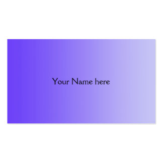 ONLY COLOR gradients - violet Business Card