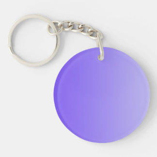 ONLY COLOR gradients - violet Keychain