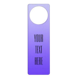 Make your own door hangers make your own door knob for Create your own door