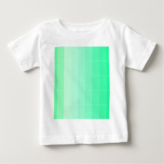 Only Color Lime Green Ombre Baby T-Shirt