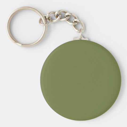 ONLY COLOR - olive green Keychain