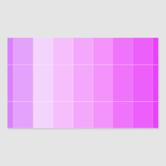 Only Color Purple Ombre Rectangular Sticker