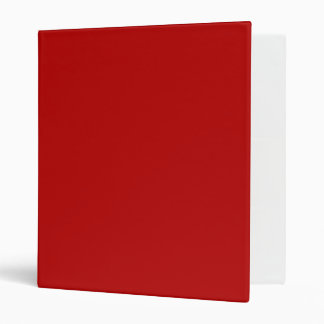 ONLY COLOR - red Vinyl Binders