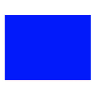 ONLY COLOR - royal blue Post Card