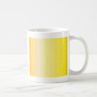 Only Color Sunny Yellow Ombre Coffee Mug