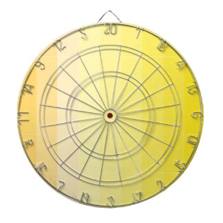 Only Color Sunny Yellow Ombre Dartboard With Darts