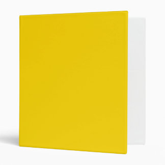 ONLY COLOR - yellow Binders