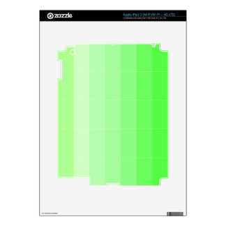 Only Color Yellow Yellow-Green Ombre iPad 3 Skins