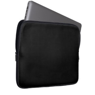 Only cool black solid color OSCB18 Computer Sleeve